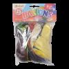 Ballonnen metallic, onbedrukt 30 cm