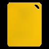 Flexibele sni 38 x 29 cm, geel