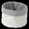 Broodzak rond, beige katoen 150 x 150 mm
