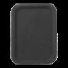 Dienblad rechthoekig 200 x 280 mm polyester, zwart
