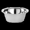 Keukenschaal RVS  16.5 cm, 0.75 liter