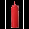 Dispenser flacon 35 cl dop 55 x 205 mm PP, rood