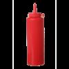 Dispenser flacon 20 cl dop 50 x 185 mm PP, rood
