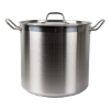 Kookpan RVS hoog 320 x 300 mm 24 liter