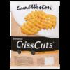 Seasoned crisscuts