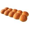 Hamburgerbol wit gesneden