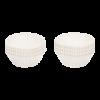 Cakevorm papier Wit
