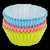 Papieren cupcake vormpjes kleur