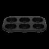 6-delige muffin bakplaat