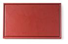 Snijplank met sapgeul bruin, 530 x 325 x 15 mm