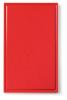 Snijplank met sapgeul rood, 530 x 325 x 15 mm