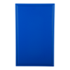 Snijplank met sapgeul blauw, 530 x 325 x 15 mm