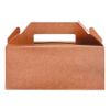 Lunchbox 228 x 122 x 97 karton, bruin