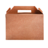 Lunchbox 228 x 122 x 97 mm karton, bruin