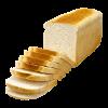Casinobrood wit gesneden