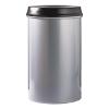 V-part vlamdover aluminium, zwarte top