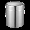 Tafelafvalbakje fandy 1.5 liter RVS, mat