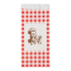 Snackzak ruit, 1.5 ons rood, nr 23