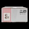 Snackzak 0,5 pond, nr 25 Rode ruit FSC