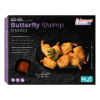 Butterfly Garnalen opengesneden (butterfly vorm) gepaneerd