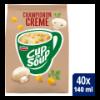 Machinezak champignon crème