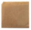 Hamburger envelopzakjes bruin, 15 x 15 cm