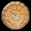 Molensteen breekbrood wit, BIO