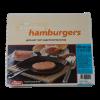 Hamburgers rundvlees