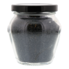 Zwart lava zout grof uit Hawaï