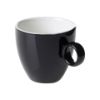 Koffiekop 17 cl zwart