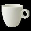 Koffiekop 17 cl wit