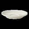 Koffieschotel 13.5 cm wit