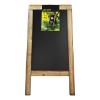 Stoepbord 131 x 72 cm steigerhout