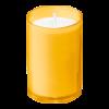 Kaarsen clear cups 16 branduren, amber