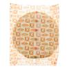Flour tortillas ambient diameter van 25 cm
