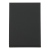 Tafelstandaard stapelbaar, zwart