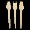 Snackvork bamboe 135mm 100st