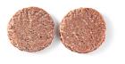 Angus runder hamburger