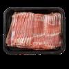 Gerookt varkens ontbijtspek spek, BL1