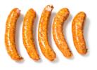 Gebraden varkens hotdog ambachtelijk gekruid