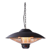 Terrasverwarmer sirius hangmodel 2100 watt, zwart