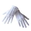Serveerhandschoenen maat L, wit