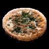 Authentieke Italiaanse pizza tonijn  spinazie