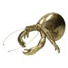 Ornament kreeft 28 x 23.5 x 14.5 cm polyresin, goud