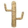 Ornament cactus zeegras naturel 45 x 13 x 70 cm