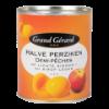 Halve perziken op siroop